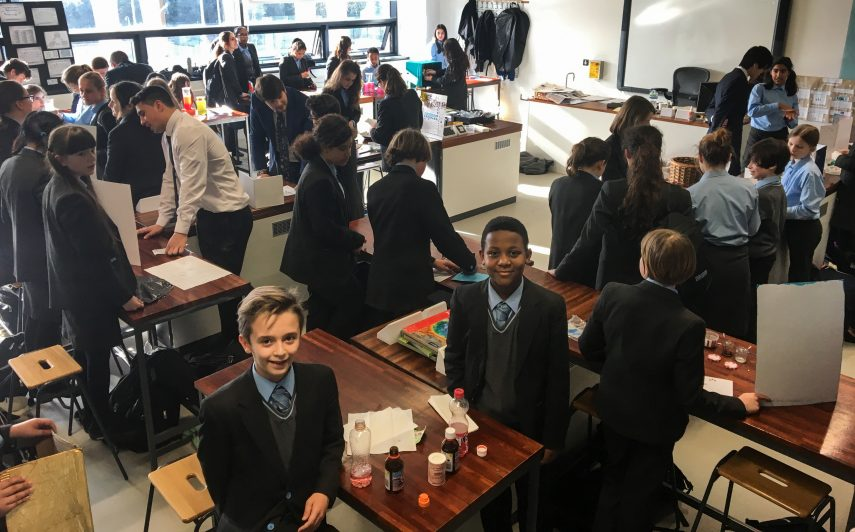Science week at Holland Park School