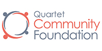 Quartet Community Foundation logo for home carousel