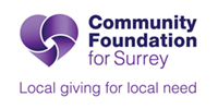 Community Foundation for Surrey logo for home carousel
